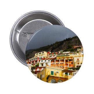 Positano, Italy 6 Cm Round Badge
