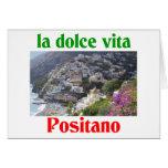 Positano Italy Card