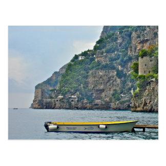 Positano, Italy - Coastal Relic Postcard