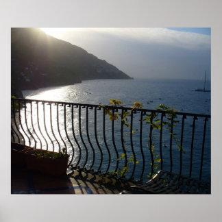 Positano, Italy  Morning view Poster