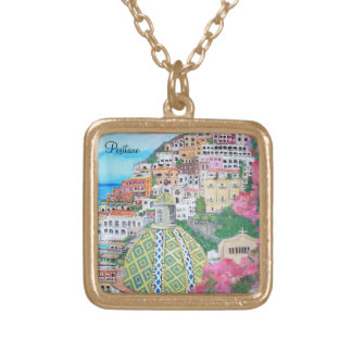 Positano, Italy Necklace