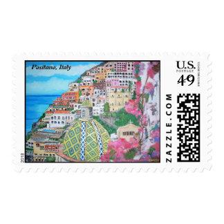 Positano, Italy - Postage