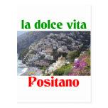Positano Italy Postcard