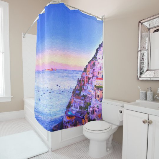 Positano, Italy Shower Curtain