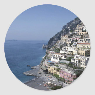 Positano, Italy Round Sticker