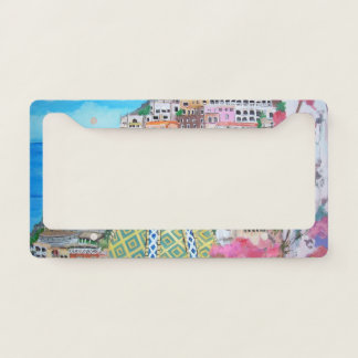 Positano - License Plate Frame