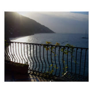 Positano, opinión de la mañana de Italia Impresiones