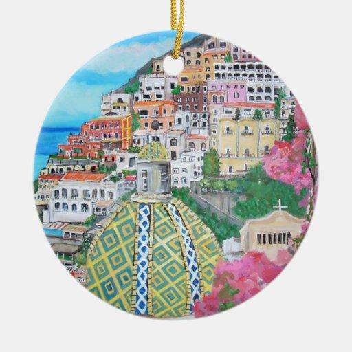 Positano, ornamento de Italia Ornamentos Para Reyes Magos