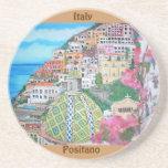 Positano - Sandstone Drink Coaster
