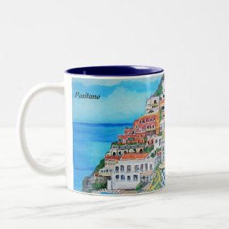 Positano, taza de Italia