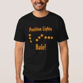 Position Lights Rule T-Shirt