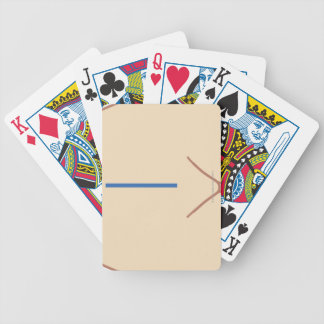Position of Colectomy Incision Bicycle Playing Cards