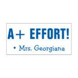 "[ Thumbnail: Positive ""A+ Effort!"" Marking Rubber Stamp ]"