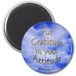 Positive Affirmation & Gratitude Magnet