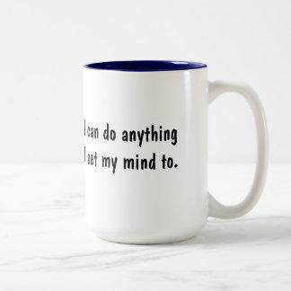 Positive Affirmation I Can Do Anything Mug