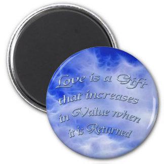 Positive Affirmation, Love & Faith Magnet