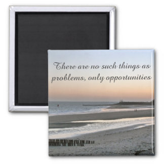 Positive Affirmation motivation about self esteem Magnet