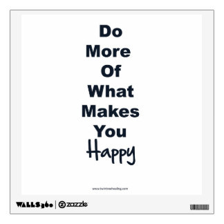 Positive Affirmation Wall Decal - Happiness