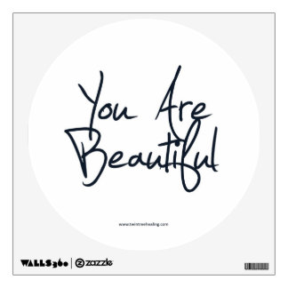 Positive Affirmation Wall Decal: You Are Beautiful