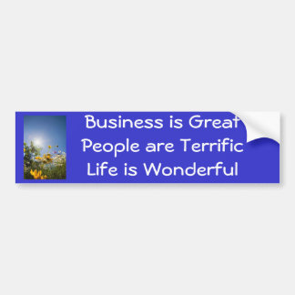 Positive Affirmations Bumper Stickers