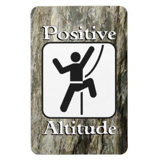 Positive Altitude - Climber Magnet
