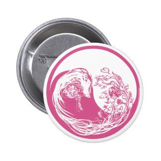 Positive and negative principles girl pink