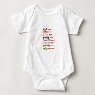 Positive Assets and Negative Liabilities Baby Bodysuit