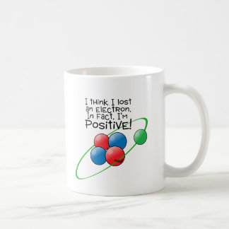 Positive Atom Coffee Mug