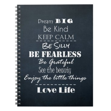 Motivate_Me Positive Attitude Affirmations Quotes Notebook