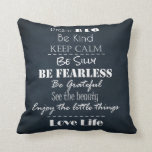 Positive Attitude Affirmations Quotes Pillow