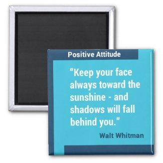 Positive Attitude Custom Magnet