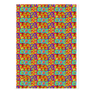 Positive balanced ENERGY DOTS CIRCLES pattern gift Postcards