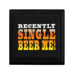 Positive Being Single Gift Ideas : Single Beer Me Jewelry Box