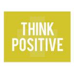 positive cartão postal