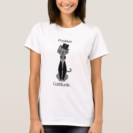 Positive Cattitude T-Shirt