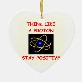 positive ceramic ornament