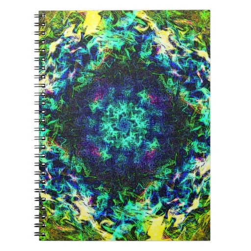Positive Charge Spiral Notebook