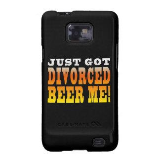 Positive Divorce Gift Ideas : Divorced Beer Me Galaxy S2 Case