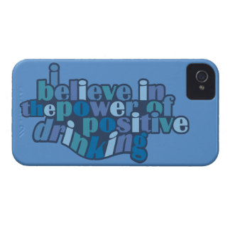 Positive Drinking custom color iPhone case-mate