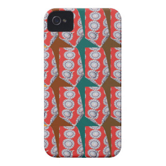 Positive Energy - CHAKRA Red Circles Tie Fashion iPhone 4 Case-Mate Case
