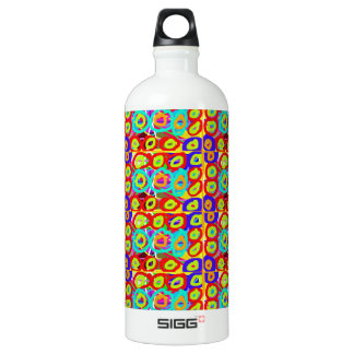 Positive ENERGY Dots n Circles Pattern by NavinJOS Aluminum Water Bottle