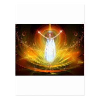 Positive Energy Goddess Postcard