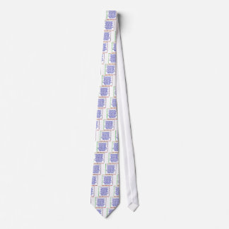 Positive Exercise Affirmations Neck Tie