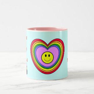 Positive Heart mug