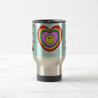 Positive Heart travel mug