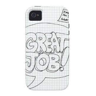Positive Job Reinforcement Messages iPhone 4/4S Case