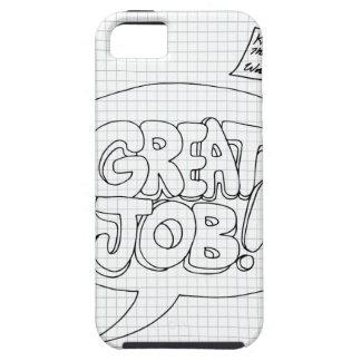 Positive Job Reinforcement Messages iPhone 5 Cover