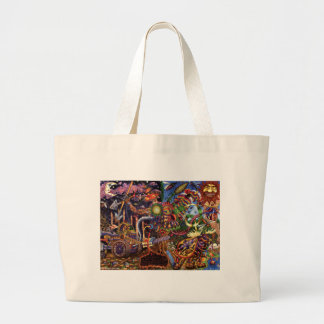 Positive  large tote bag
