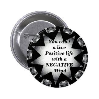 Positive Life_Button Pinback Button
