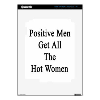 Positive Men Get All The Hot Women Skins For iPad 3
